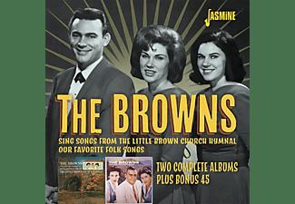 The Browns - Two Complete Albums Plus Bonus 45  - (CD)