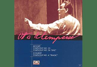 Paris Pro Musica Orchestra, Orchestre de l'Association des Concerts Lamoureux - Mozart,Schubert: Sinfonien 25/36 und 4  - (CD)