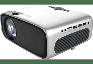 PHILIPS NeoPix Prime 2 mit vorinstallierten Apps Beamer(HD, 180 ANSI-Lumen, WLAN