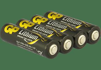 GP AA AA Batterie, Lithium, 1.5 Volt 4 Stück