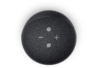 AMAZON Echo Dot (4. Generation), mit Alexa, Smart Speaker, Anthrazit