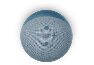AMAZON Echo Dot (4. Generation), mit Alexa, Smart Speaker, Blaugrau