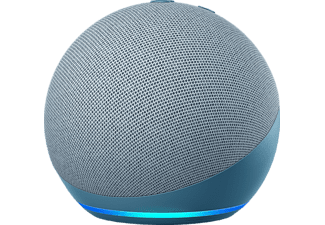 AMAZON Echo Dot (4. Generation), mit Alexa, Smart Speaker, Blaugrau