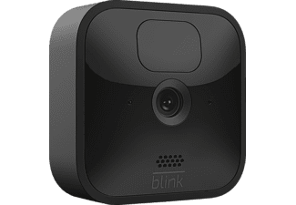 AMAZON Blink Outdoor Kamera, 3. Generation/2020, Set inkl. Sync-Modul 2, Schwarz (53-024848)
