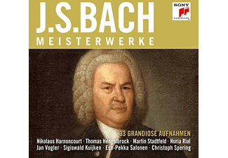 VARIOUS - Bach Masterworks  - (CD)