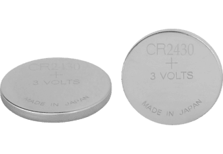 GP CR2430 CR2430 Batterie, Lithium Button, 3 Volt, 300 mAh 2 Stück