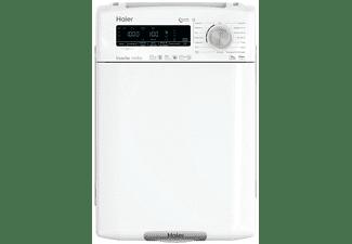 Lavadora carga superior - Haier RTXSG48TMCE-37, 8kg, 1400rpm, Inverter, Antibacterias, Vapor, Blanco
