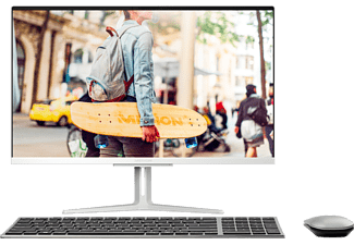 "MEDION AKOYA E27401 (MD 61813) - All-in-One PC (27 "", 1 TB SSD, Argento)"