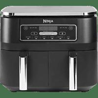 NINJA AF300EU Foodi Dual Zone Heißluftfritteuse 2400 Watt Grau