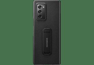 SAMSUNG Aramid standing, Backcover, Samsung, Galaxy Z Fold2 5G, Schwarz