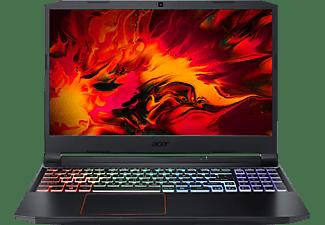 ACER Nitro 5 (AN515-55-790P) RGB Tastaturbeleuchtung, Gaming Notebook mit 15,6 Zoll Display, Intel® Core™ i7 Prozessor, 8 GB RAM, 512 GB SSD, GeForce GTX 1660Ti, Schwarz/Rot