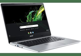 ACER Chromebook 14 (CB314-1H-C1WK), Chromebook mit 14 Zoll Display, Celeron Prozessor, 4 GB RAM, 64 GB eMMC, Intel UHD Graphics 600, Silber