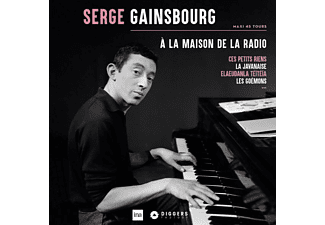 Serge Gainsbourg - A La Maison De La Radio (Pink Vinyl Reissue)  - (Vinyl)