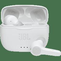 JBL Tune 215 TW, In-ear Kopfhörer Bluetooth Weiß