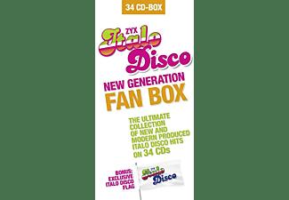VARIOUS - ITALO DISCO NEW GENERATION FAN BOX  - (CD)