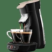 PHILIPS Senseo Viva Café Eco HD6562/35 Kaffeepadmaschine, Nougat