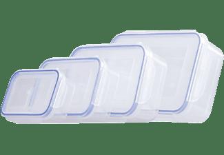 MEDIA SHOP Frischhalteboxen (8 Stück) Click & Lock, in 4 verschiedenen Größen (M23778)