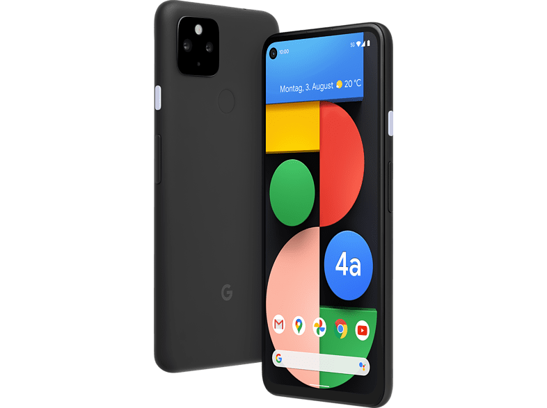 GOOGLE Pixel 4a  - mit 5G 128 GB - Just Black Dual SIM