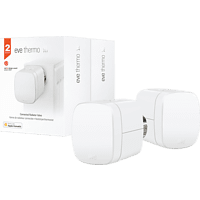 EVE Thermo 2er Pack - Smartes Heizkörperthermostat, Weiß