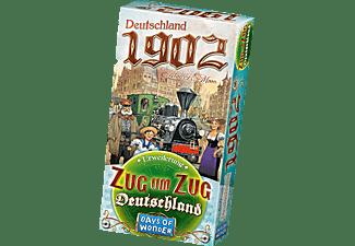 DAYS OF WONDER Zug um Zug: Deutschland - Deutschland 1902 - Erweiterung Gesellschaftsspiel Mehrfarbig