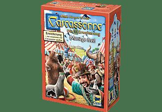 HANS IM GLÜCK Carcassonne - Manege frei! - Die 10. Erweiterung Gesellschaftsspiel Mehrfarbig