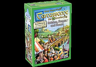 HANS IM GLÜCK Carcassonne - Brücken, Burgen und Basare - Die 8. Erweiterung Gesellschaftsspiel Mehrfarbig