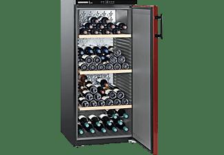 LIEBHERR WKr 3211-22 Weinklimaschrank (EEK E, Schwarz/Bordeauxrot)