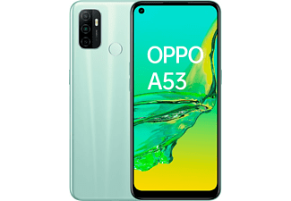 """Móvil - OPPO A53, Verde, 64 GB, 4 GB, 6.5"""", Qualcomm Snapdragon 460, 5000 mAh, Android"""