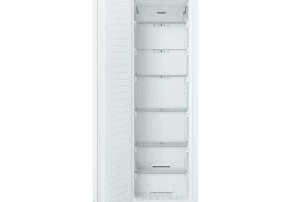 Congelador vertical - Bosch GIN81AEF0, Integrable, No Frost, 211 l, Blanco