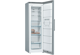 Congelador vertical - Bosch GSN36VIFP, Independiente, No Frost, 255 l, Inox