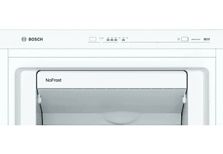 Congelador vertical - Bosch GSN33VWEP, Independiente, No Frost, 225 l, Blanco