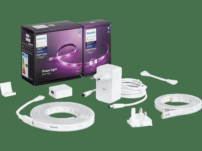 Media Markt: Philips Hue Lightstrip Plus V4 2+1 Meter mit Bluetooth
