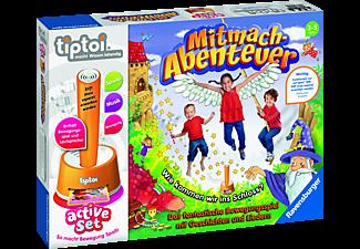 RAVENSBURGER tiptoi® active Set Mitmach-Abenteuer tiptoi Spiele/Puzzles