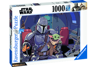 RAVENSBURGER Star Wars: Mandalorian Puzzle Mehrfarbig