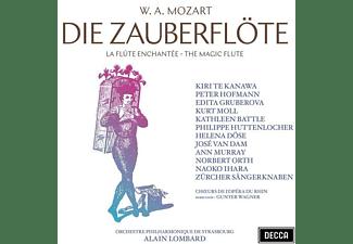 Kiri Te Kanawa, Edita Gruberova, Kathleen Battle, - DIE ZAUBERFLÖTE  - (CD)