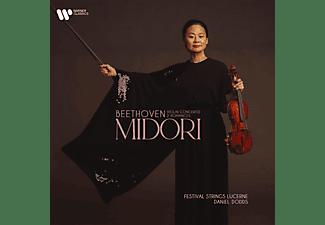 Midori, Festival Strings Lucerne, Daniel Dodds - Violin Concerto / 2 Romances  - (CD)