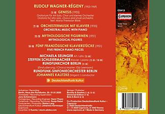 Selinger/Schleiermacher/Kalitzke/RSO Berlin - GENESIS. MYTHOLOGICAL FIGURES - ORCHESTRAL MUSIC W  - (CD)
