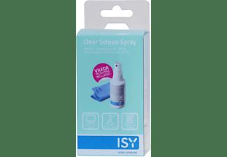 ISY ICL-2000-1 Monitor-Reinigungsspray  Spezialreiniger: Grau/Weiß/Blau, Mikrofasertuch: Blau