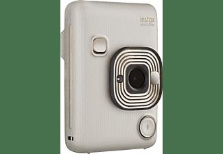 FUJIFILM instax mini LiPlay Sofortbildkamera, Beige Gold