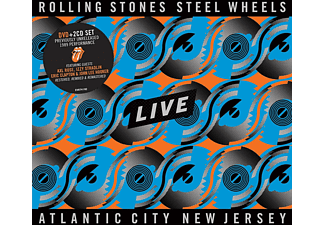 The Rolling Stones - The Rolling Stones - Steel Wheels Live (Atlantic City 1989)  - (DVD + CD)