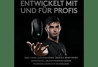 LOGITECH G PRO Wireless Gaming Maus, Schwarz