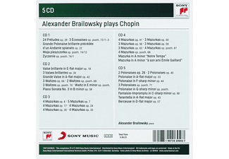 Alexander Brailowsky - ALEXANDER BRAILOWSKY PLAYS CHOPIN  - (CD)