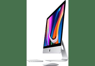APPLE MXWU2D/A iMac 2020, All-in-One PC mit 27 Zoll Display, Intel® Core™ i5 Prozessor, 8 GB RAM, 512 GB SSD, Radeon Pro 5300, Silber