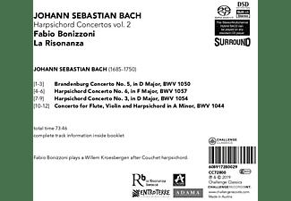 Fabio Bonizzoni - Harpsichord Concertos Vol.2  - (SACD Hybrid)