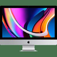 APPLE MXWU2D/A iMac 2020, All-in-One PC mit 27 Zoll Display, Core i5 Prozessor, 8 GB RAM, 512 GB SSD, Radeon Pro 5300, Silber