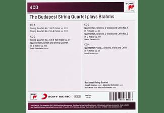 Budapest String Quartet - The Budapest Strinq Quartet Play Brahms  - (CD)
