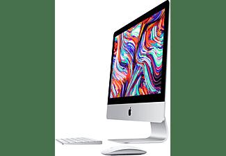 APPLE MHK23D/A iMac 2020, All-in-One PC mit 21,5 Zoll Display, Core i7 Prozessor, 16 GB RAM, 256 GB SSD, Radeon Pro 555X, Silber