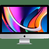 APPLE MXWV2D/A iMac 2020, All-in-One PC mit 27 Zoll Display, Core i7 Prozessor, 8 GB RAM, 512 GB SSD, Radeon Pro 5500 XT, Silber