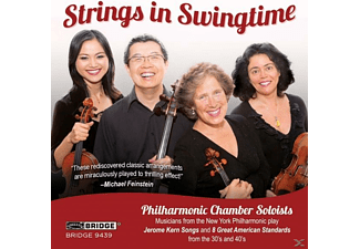 Philharmonic Chamber Soloists - Strings in Swingtime  - (CD)