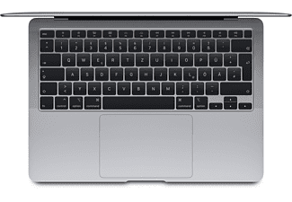 APPLE MacBook Air MWTJ2D/A, Notebook mit 13,3 Zoll Display, Core™ i3 Prozessor, 8 GB RAM, 256 GB SSD, Intel Iris Plus Graphics, Space Grau